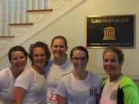 lopez mchugh's navy yard 5k team