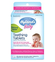 fda urges caution on hyland's teething gels